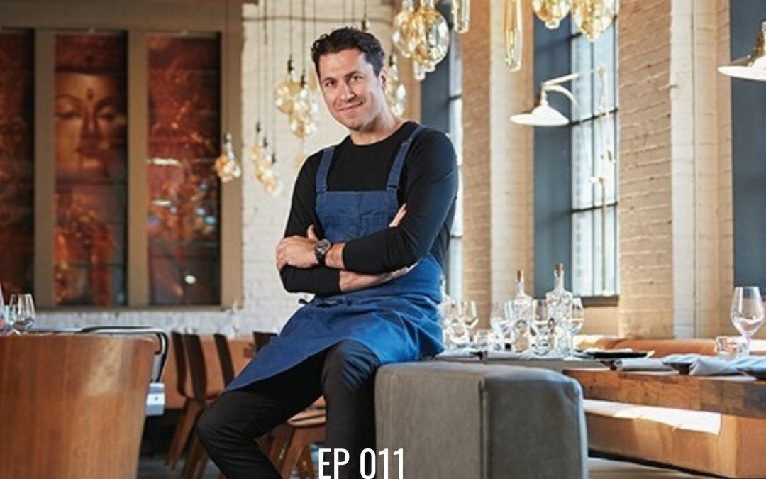 EP 011   Claudio Aprile  Stepping into the Unknown: A Recipe For Success